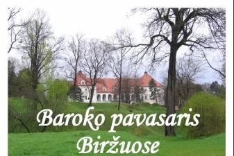 Baroko pavasaris Biržuose. Atgarsiai