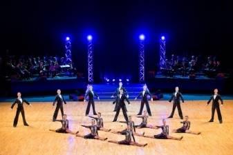 """Sportinių šokių ansamblio """"Žuvėdra"""" atsisveikinimo koncertų svečias -  """"Trimitas"""""""