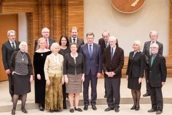 Premjeras A. Butkevičius pasveikino Vyriausybės kultūros ir meno premijos laureatus