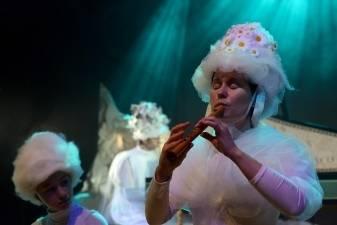 """Baroko muzikos aistros muzikinio teatro """"Tarp natų"""" spektaklyje """"Affetti musicali"""""""
