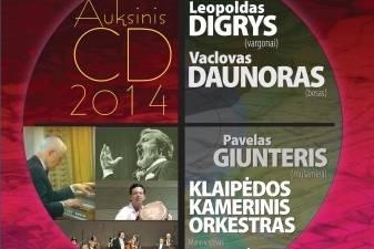"""""""Auksinio disko 2014"""" laureatai"""