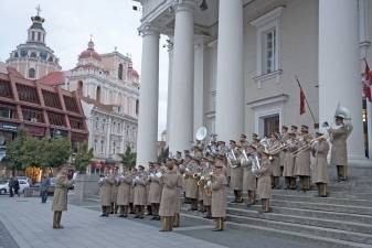 Spalio 1 d. Vilniaus centre bus minima Tarptautinė muzikos diena