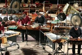 """Perkusijos meistrai garsais tapys """"Įsivaizduojamą peizažą"""""""