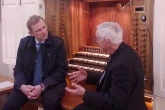 Kultūros ministras lankėsi sostinės Šv. Kazimiero bažnyčioje