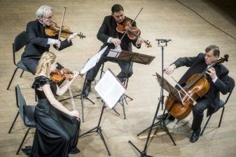 Vilniaus kvartetas, J. Kaliūnaitė ir V. Sondeckis pažers romantiškos muzikos suvenyrų