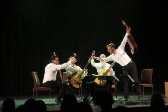 Baltijos gitarų kvarteto koncertas Helsinkyje