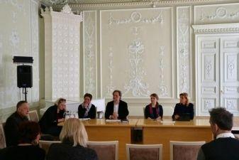 Kultūros ministrė L. Ruokytė-Jonsson susitiko su kūrybinių asociacijų atstovais