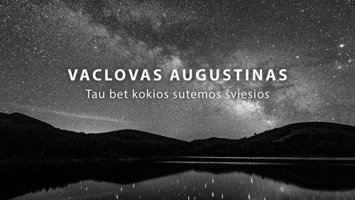 Vaclovas Augustinas – pirmoji kūrybos kompaktinė plokštelė