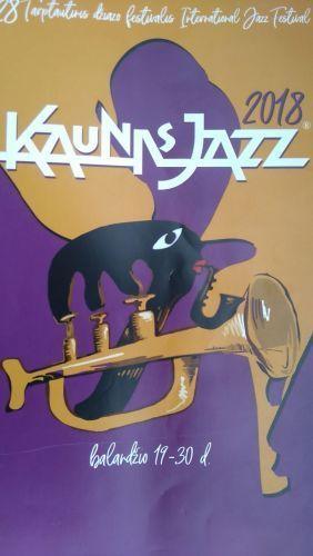 """28-jo """"Kaunas Jazz"""" štrichai:  prasiplėtusi geografija ir espresso puodelis"""