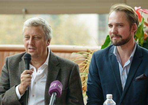 Lietuvos ir Latvijos teatrų vadovai drauge pristatė būsimąjį LNOBT sezoną