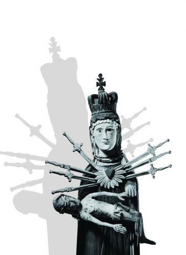 Laisvės gynėjų dienai – O. Narbutaitės kūrinys, įrėmintas simboliniu trikampiu
