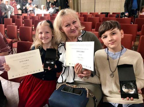 Sėkmė VII tarptautiniame Stokholmo konkurse