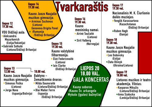 """""""Kaunas Piano Fest"""" vėl kviečia į klasikinės muzikos šventę"""