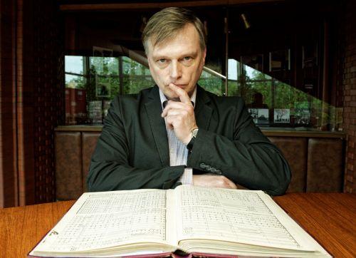 Jubiliejinio koncerto išvakarėse dirigentas Martynas Staškus susitiks su savo gerbėjais