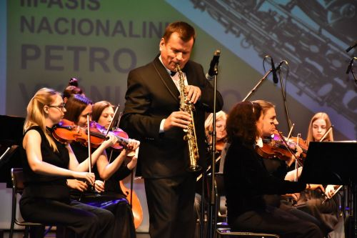 Paskelbti III Petro Vyšniausko saksofonininkų konkurso laureatai
