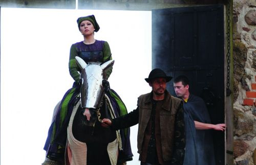 "Opera ""Lietuviai"" atgims Valdovų rūmų kieme"