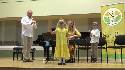 Muzika šeimose skamba ir pandemijos metu