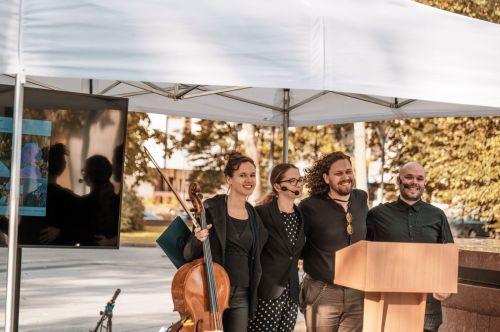 """Festivalis """"Muzika erdvėje"""" tyrė žmogaus ir modernios valstybės santykį"""