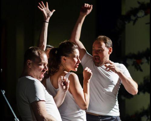 Belgų vokalinė grupė į Vilnių atveža provokuojantį spektaklį, išgarsėjusį dėl naujo požiūrio į žmogaus balsą