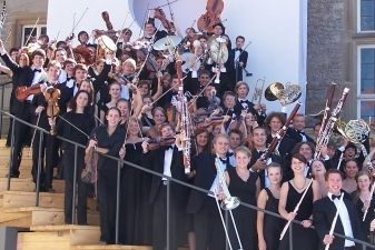 Vokietijos jaunimo orkestras sveikins Lietuvą