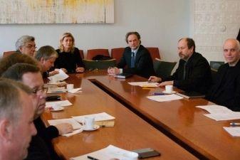 Įvyko pirmasis naujai išrinktos Kultūros ir meno tarybos posėdis