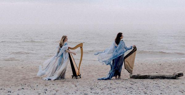 """""""DUO UNICUM"""": Koncertinės kanklės / keltiška arfa"""