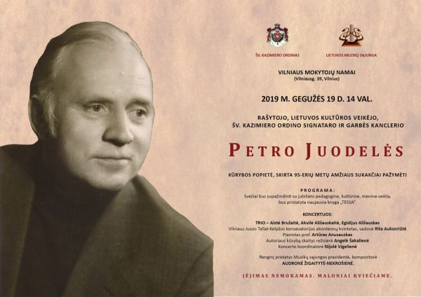 PETRUI JUODELEI - 95