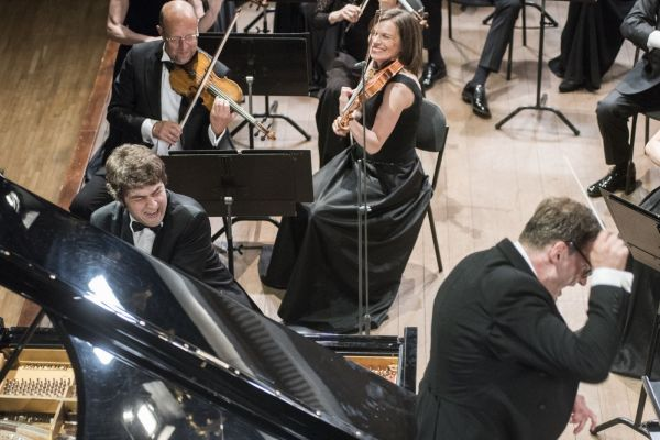 """Orkestro muzikos koncertas """"Modestas, Lukas ir orkestras"""""""