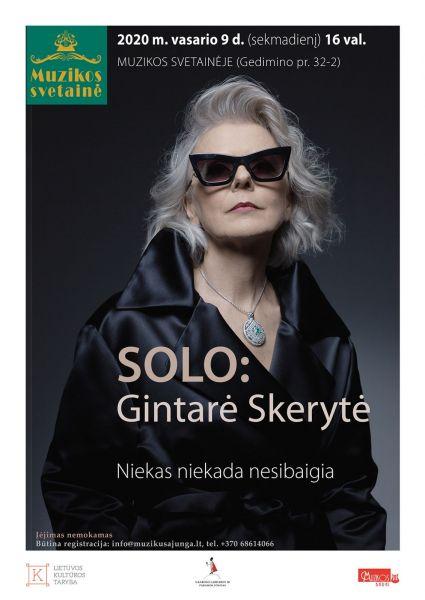 Susitikimas su dainininke Gintare Skeryte